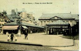 N°69789 -cpa Le Havre -place Du Vieux Marché- - Le Havre