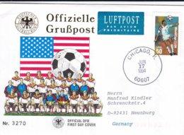 USA Cover 1994 FIFA World Cup Football USA (G95-10) - Fußball-Weltmeisterschaft
