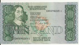 AFRIQUE DU SUD 10 RAND ND1990-93 XF+ P 120 E - Afrique Du Sud