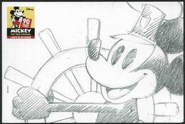 2018 Walt Disney, 90° Anniversario Di Topolino Annullo Ufficiale - Disney