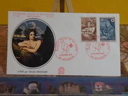 Croix Rouge Et La Poste, L'été Nicolas Mignard - 84 Avignon - 13.12.1969 FDC 1er Jour N°700 - Coté 4€ - FDC
