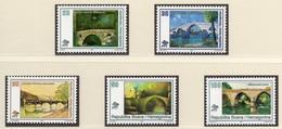 1995 - BOSNIA ERZEGOVINA - Mi.  Nr. 32/36 - NH - (UP121.23) - Bosnia Erzegovina
