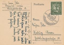 Deutsches Reich - 1943 - 6Pf Deutsche Goldschmiedekunst On Postkarte From Hanau To Dieburg - Germany