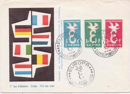 Schöner FDC / BRIEF - LUXEMBURG - Poststempel   LUXEMBURG -  Gestempelt 1958 - FDC