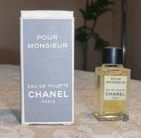 POUR MONSIEUR - EDT 4 ML De CHANEL - Miniatures Hommes (avec Boite)