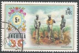 Anguilla. 1972 Definitives. 5c Used. SG 134 - Anguilla (1968-...)