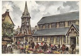 14 Honfleur Eglise Sainte Catherine Par M. Legendre (2 Scans) - Honfleur