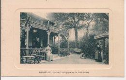 L200A_304 - Marseille - RARE - Jardin Zoologique - Le Café-Buffet - Carte Gaufrée - The Canebière, City Centre