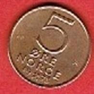 NORWAY # 5 ØRE FRA 1973 - Norvège