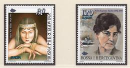 1996 - BOSNIA ERZEGOVINA - Mi.  Nr. 45/46 - NH - (UP121.24) - Bosnia Erzegovina