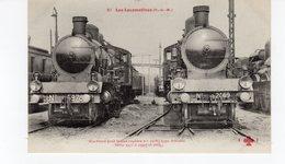 Les Locomotives (P.L.M.) Machine N°2978 Pour Trains Rapides Type Atlantic. - Trains
