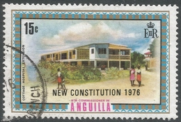 Anguilla. 1976 New Constitution. 15c Used. SG 232 - Anguilla (1968-...)