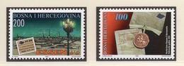 1996 - BOSNIA ERZEGOVINA - Mi.  Nr. 53+58 - NH - (UP121.24) - Bosnia Erzegovina