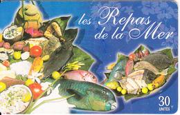 FRENCH POLYNESIA(chip) - Les Repas De La Mer, Tirage 30000, 12/02, Used - French Polynesia
