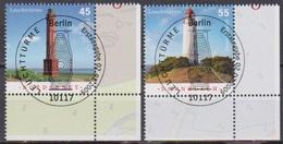 Deutschland 2009 MiNr.2742 - 2743 O Gest. ESST. Leuchttürme ( 8677 )günstige Versandkosten - Gebraucht