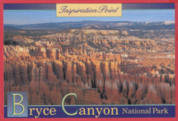 Inspiration Point BRYCE CANYON NATIONAL PARK * Photo Charles D. Thomas * 2 SCANS - Bryce Canyon