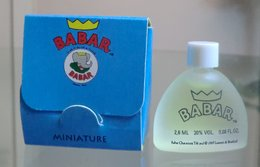 BABAR - EDT 2,6 ML De CELESTE - Miniatures Modernes (à Partir De 1961)