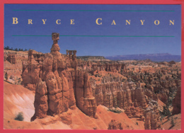 BRYCE CANYON NATIONAL PARK * Queen's Garden Trail * Photo Fawn Finchum* 2 SCANS - Bryce Canyon
