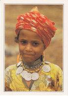 Yemen Du Nord Djahat Jeune Fille (2 Scans) - Yémen