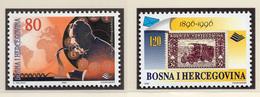 1996 - BOSNIA ERZEGOVINA - Mi.  Nr. 59/60 - NH - (UP121.24) - Bosnia Erzegovina