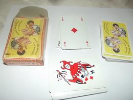 Jeu De 54 Cartes Germaine Bouret (boite Abimée Et Scotchée) - Cartes à Jouer Classiques