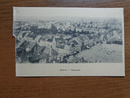 Roeselare - Roulers / Panorama --> Onbeschreven (links Geschonden) - Roeselare