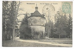 VENDEUVRE Sur BARSE 1906 TOURELLE Du CHÂTEAU Aube En Champagne Près Troyes Brienne Le Dienville Bar Sur Arcis Chavanges - Autres Communes