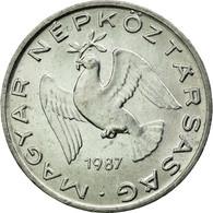 Monnaie, Hongrie, 10 Filler, 1987, Budapest, TTB, Aluminium, KM:572 - Hongrie