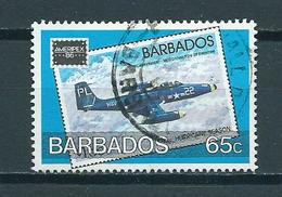 1986 Barbados Ameripex Stamp Show Used/gebruikt/oblitere - Barbados (1966-...)