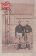 CARTE PHOTO ècrite à CHAUMONT Le 23 Octobre 1909 Militaires Du 109e - Chaumont
