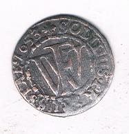 SCHILLING  1653 BRANDENBURG  PREUSSEN  DUITSLAND /1029/ - [ 1] …-1871 : Etats Allemands