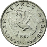 Monnaie, Hongrie, 10 Filler, 1983, Budapest, TTB, Aluminium, KM:572 - Hongrie