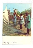 GUINEA - CONAKRY, Remise En Etat Des Filets Des Pecheurs De Boulbinet, 1965 - Guinea