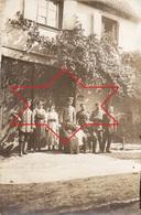 CP Photo 1916 Secteur MUNSTER, WETTOLSHEIM ?? - Allemands Et Civils, Près Lager Protzkasten ? (A205, Ww1, Wk 1) - France