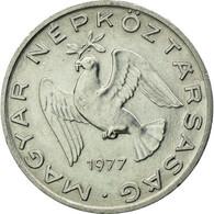 Monnaie, Hongrie, 10 Filler, 1977, Budapest, TTB, Aluminium, KM:572 - Hongrie
