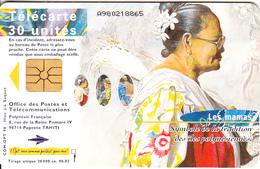 FRENCH POLYNESIA - Les Mamas 1, Chip GEM1.1, Tirage %20000, 03/98, Used - Frans-Polynesië