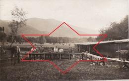 CP Photo 1916 ZIMMERBACH (près Munster) - Une Vue Au Lager Protzkasten, Camp Allemand (A205, Ww1, Wk 1) - France
