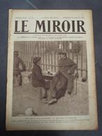 Le Miroir N° 44 Dimanche 27 Septembre 1914. Barcy, 1870, Avions Alliés, Mortier De 280 Allemand, Senlis, Canons Allemand - Weltkrieg 1914-18