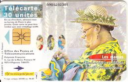 FRENCH POLYNESIA - Les Mamas 2, Chip GEM1.1, Tirage 20000, 03/98, Used - French Polynesia