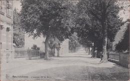 Neufchâteau L' Avenue De La Gare Luxemburg Luxembourg Province Provincie 1919 (En Très Bon Etat) (In Zeer Goede Staat) - Neufchâteau