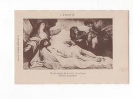 CHRIST DÉPOSÉ DE LA CROIX - LA PIÉTA  - MUSÉE D'ANVERS  - CPA N/B - ED. G. HERMANS - NON  VOYAGEE - Jesus