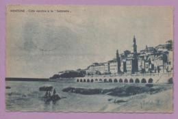 """Mentone - Città  Vecchia E Le """"Sabbiette"""" - Francia"""