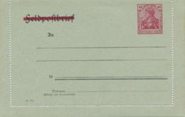 Deutsches Reich - 40Pf Germania Feldpostbrief - Striked Out - Unused - Postwaardestukken
