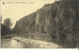 Vallée De L' Ourthe Hotton -- Les Rochers.      (2 Scans) - Hotton