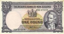 1 LIVRE 1940 - Nouvelle-Zélande