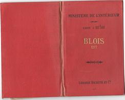 BLOIS Est - Carte Du MINISTERE DE L'INTERIEUR Révisée En 1903  FEUILLE XV-18 - Librairie HACHETTE - Geographical Maps