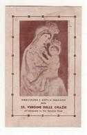 Santino Antico Madonna Delle Grazie Da Napoli - Religione & Esoterismo