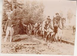 Maneuvers In Dendermonde - 31 Augustus 1897 - Foto Formaat 8 X 10.5 Cm - Oorlog, Militair