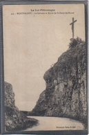 Carte Postale 46. Montvalent  Le Calvaire Et Route De St-Denis-les-Martel  Très Beau Plan - Autres Communes