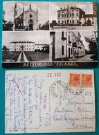 """Cartolina Rettorgole """"Vicenza"""" A Vedutine. Viaggiata 1957 - Vicenza"""